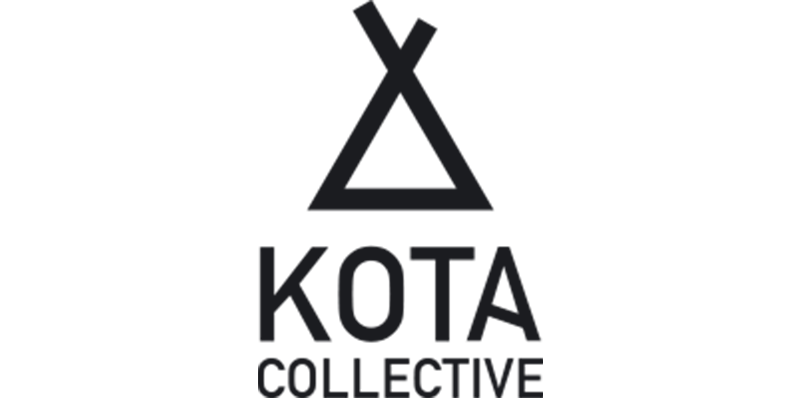 Logo for Kota Collective, specializing in advertisement video production in the Arctic wilderness