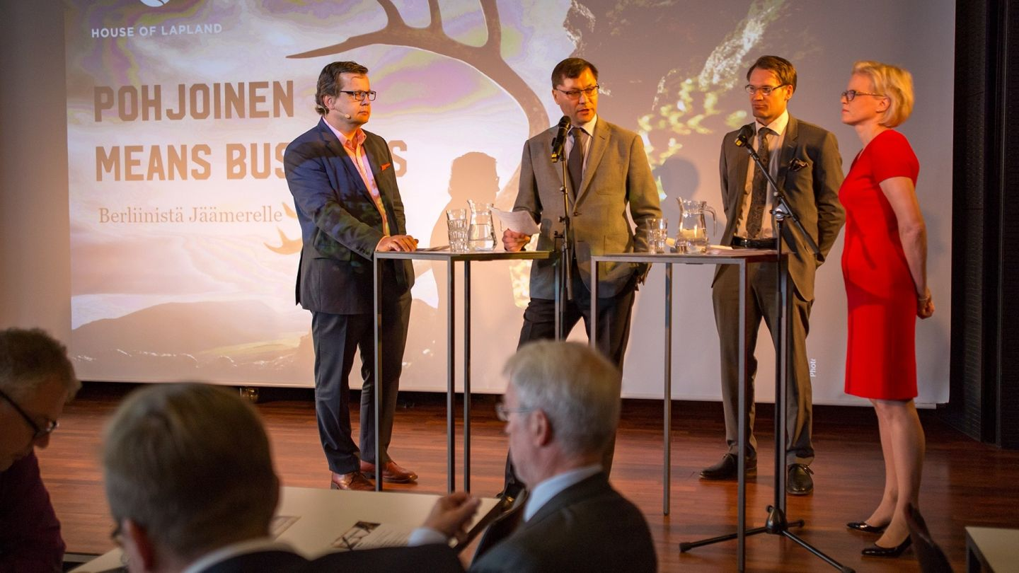 Pohjoinen means business arctic railway event