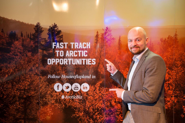 Pohjoinen means business arctic railway ArcticBiz