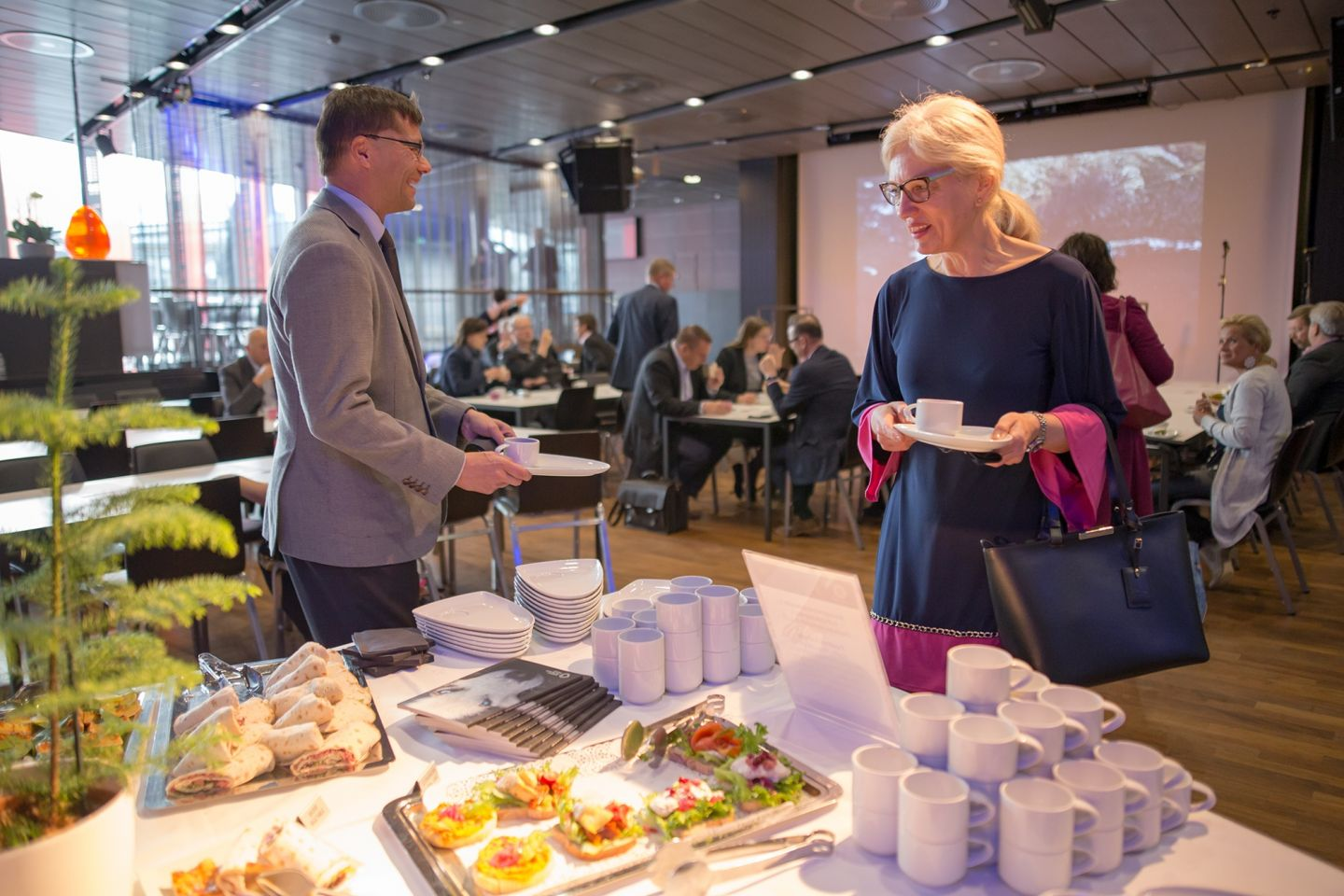 Pohjoinen means business arctic railway food