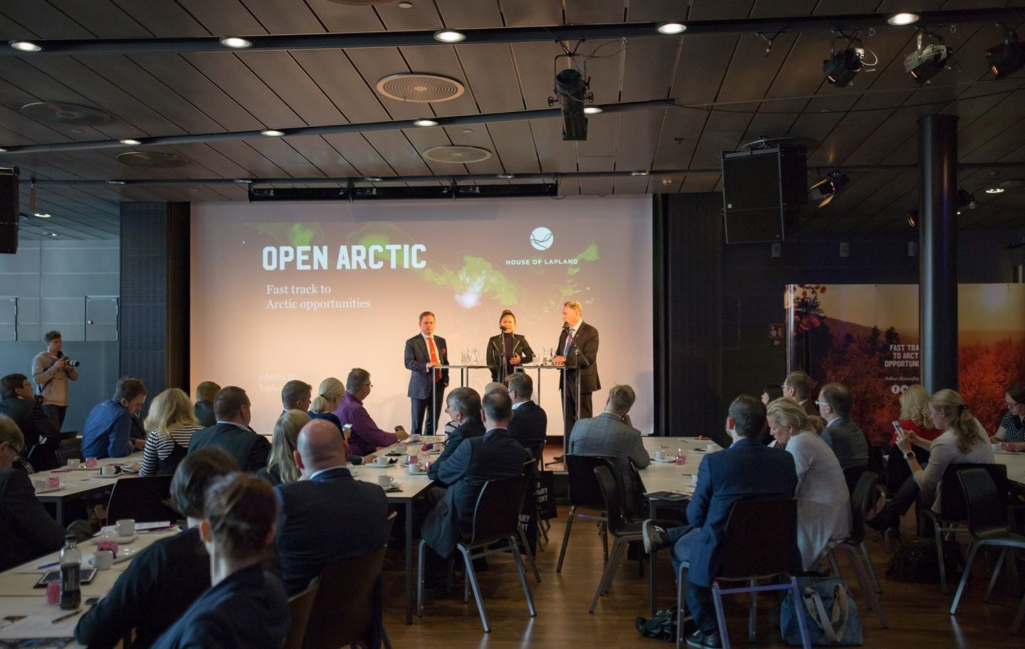 Pohjoinen means business arctic railway Open Arctic