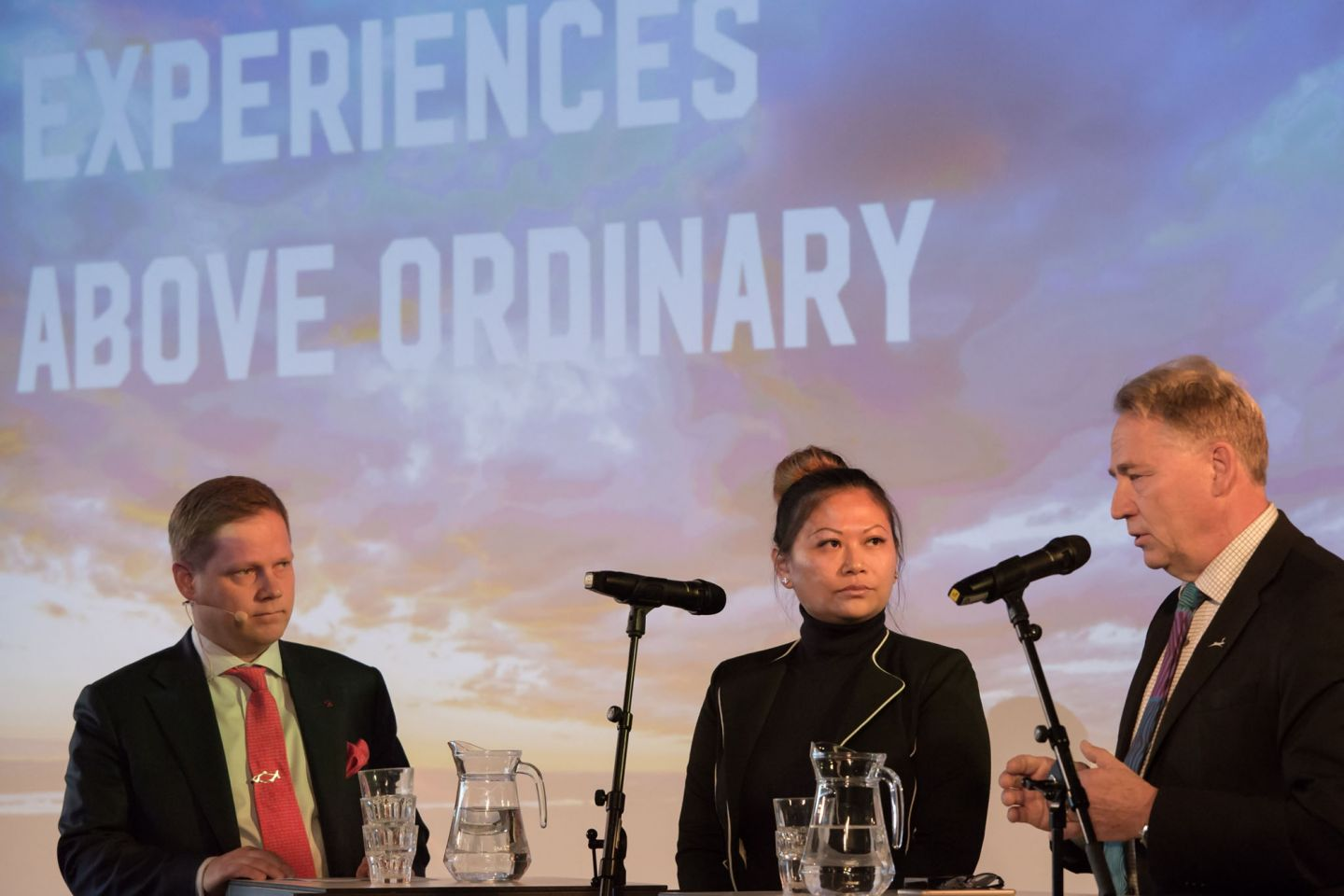Pohjoinen means business arctic railway panel