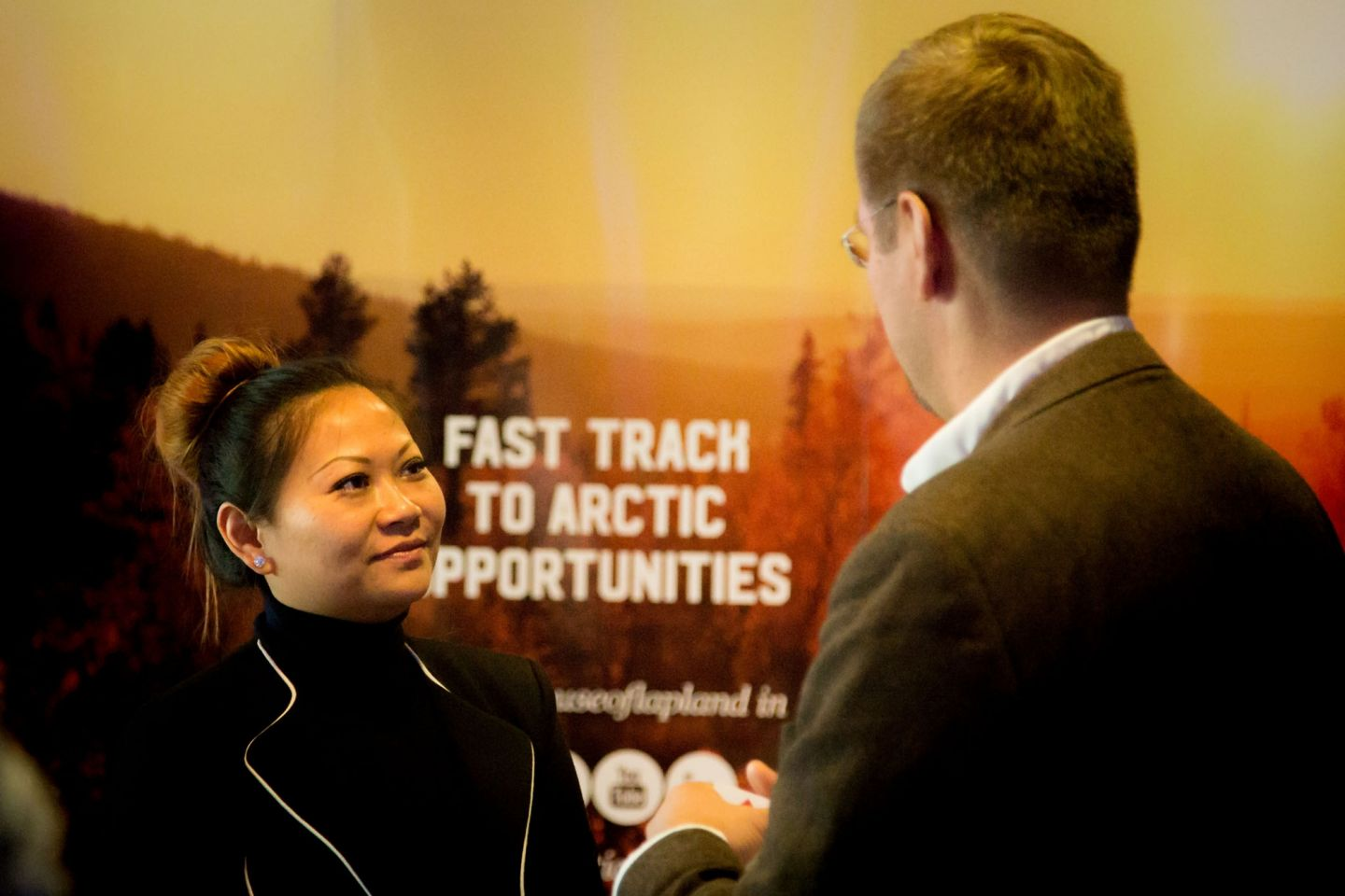 Pohjoinen means business arctic railway talking