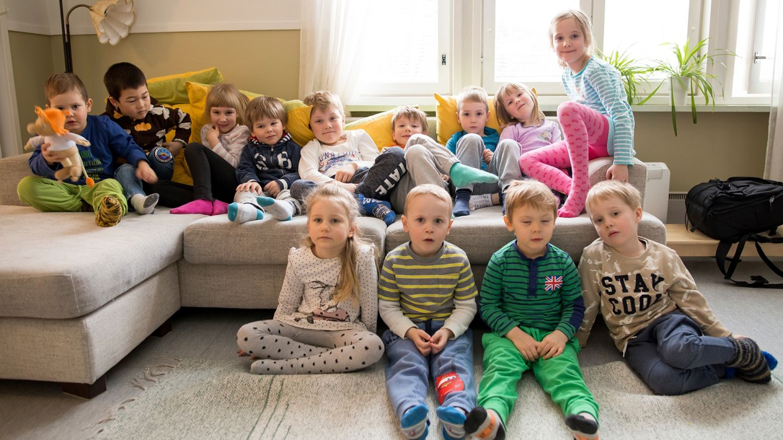 lapissa asuminen päiväkodin lapset