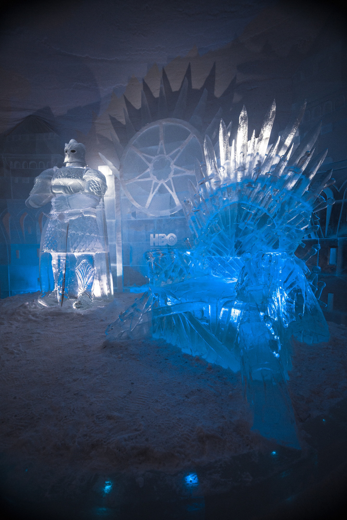 Game of Thrones Snowvillage Throne