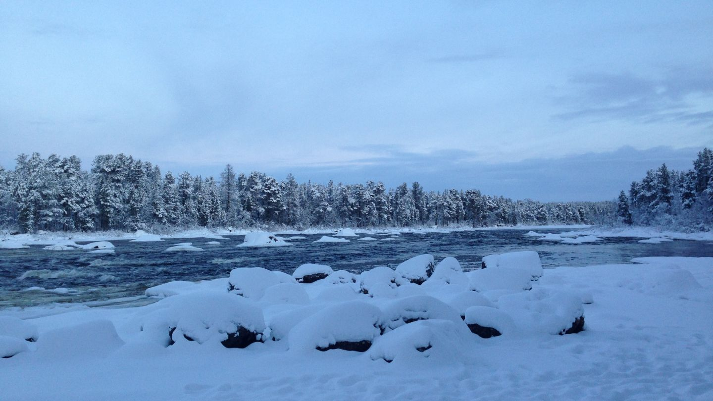 River culture in Lapland