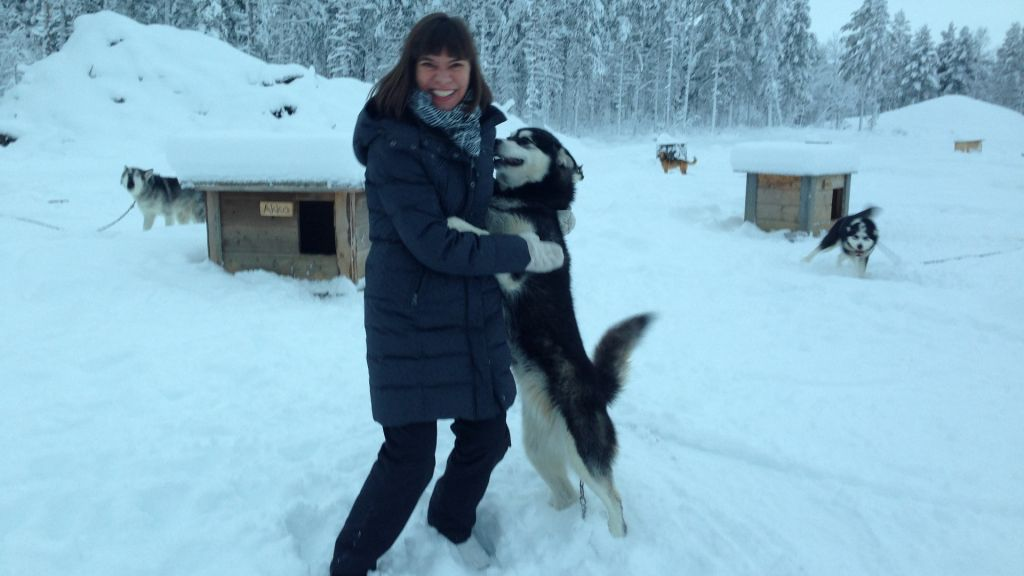 Tuija Seipell and dog culture in Lapland