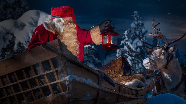 Joulupukki.