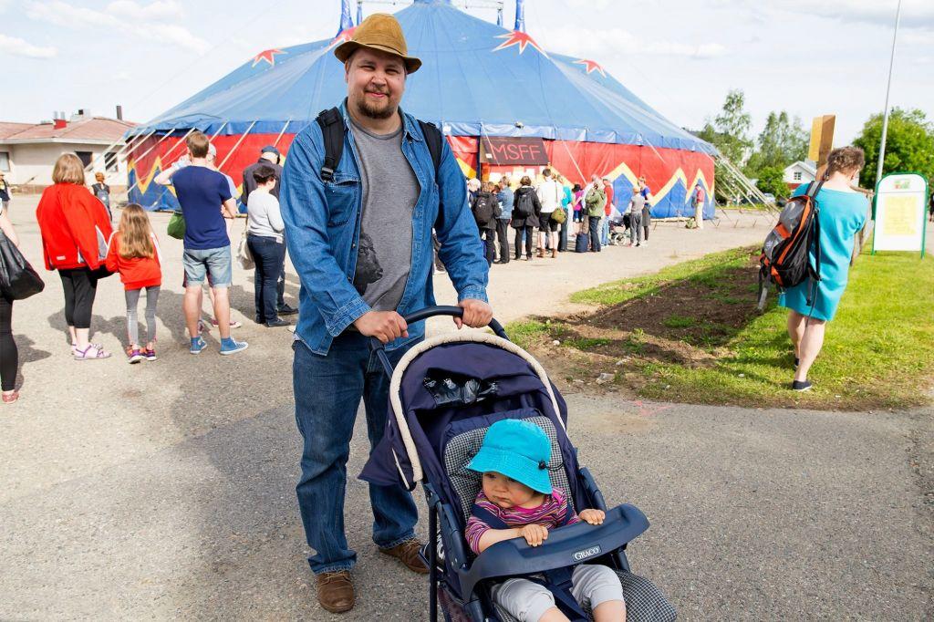 elokuvafestivaalit festarit lapissa isä ja lapsi