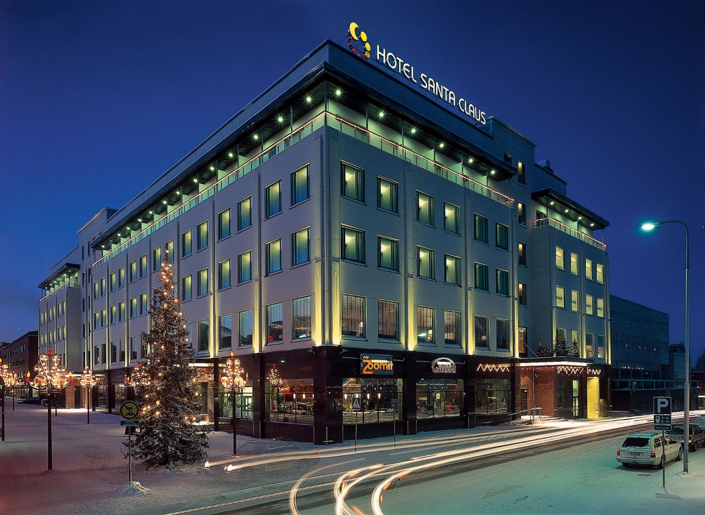 Hotel Santa Claus, convenient accommodation for film productions in downtown Rovaniemi