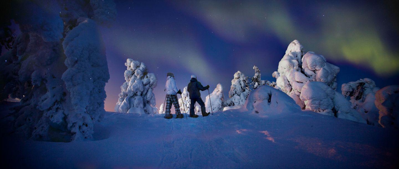 Lumikenkäily harrastukset lapissa