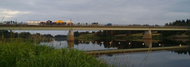Savukosken siltatanssit harrastukset lappi silta