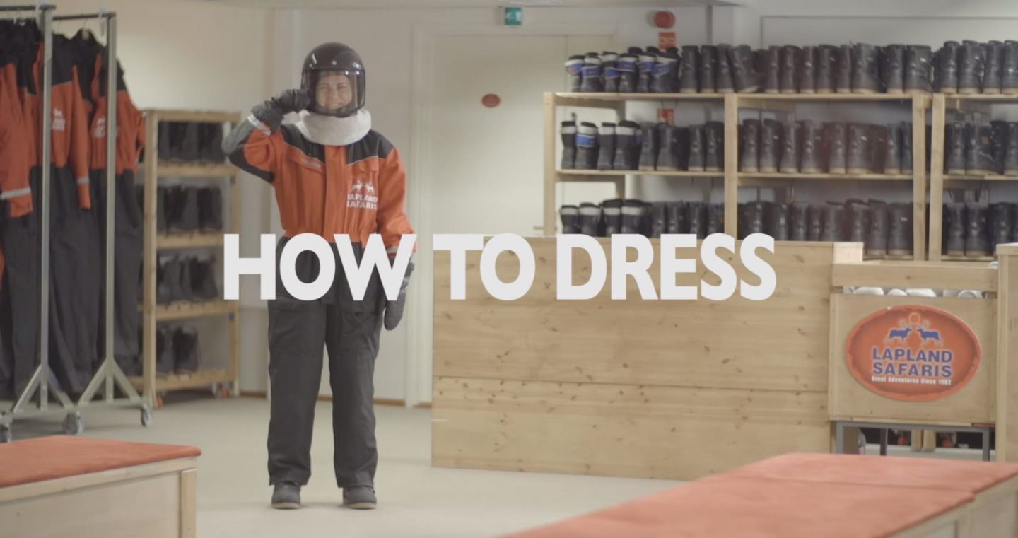 How to Dress in Winter, a guide from Finnish Lapland