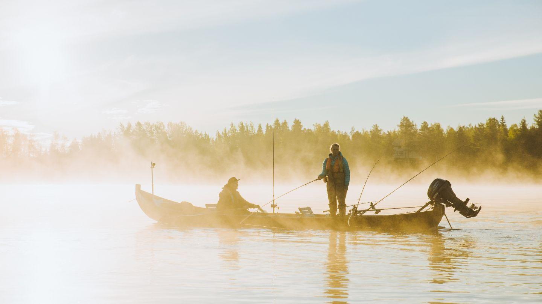 Kalastus Lapissa
