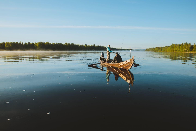 Kalastus Lapissa kesä