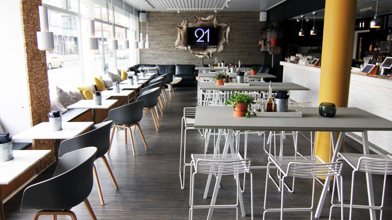 Kulttuuri Lapissa Cafe21 tilat