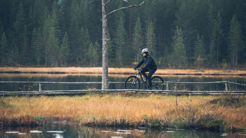 Syöte Finland, autumn biking