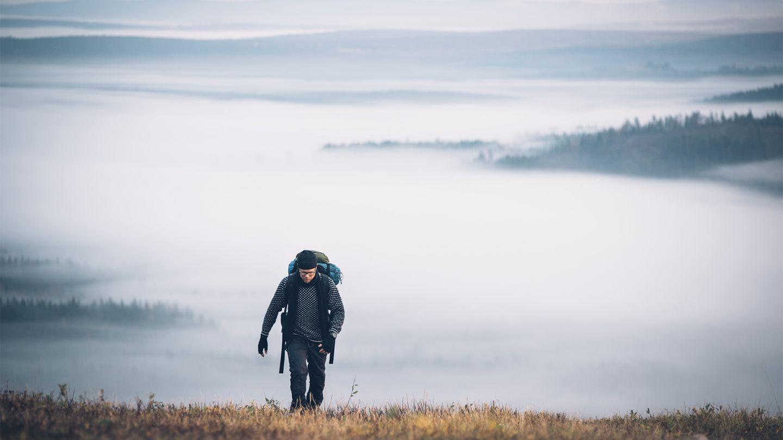 autumn hiking in Syöte, Finland
