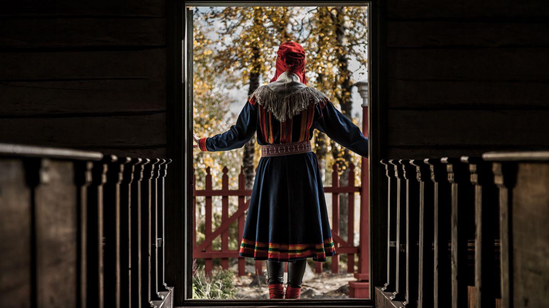 Sami culture in Inari Saariselka, Lapland
