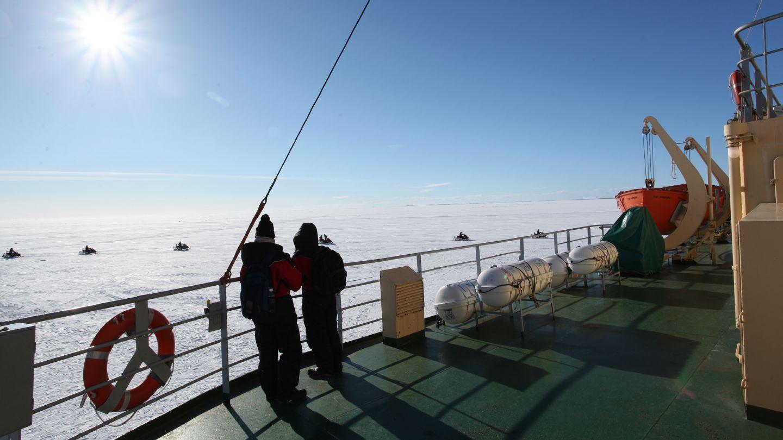 From the icebreaker Sampo in Kemi, Finland