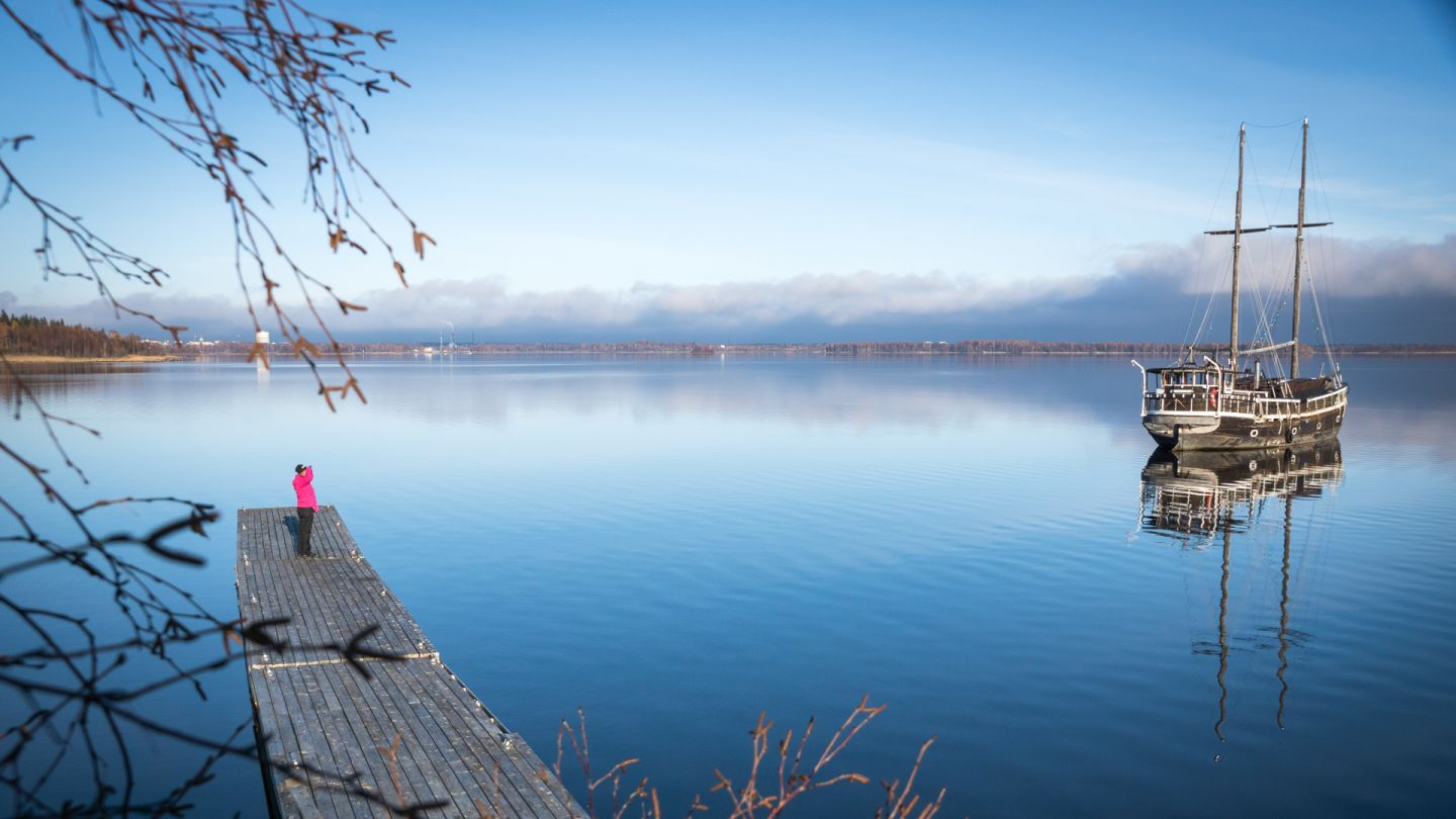 The sea from Kemi, Finland