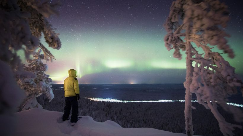 Northern lights trip to Pyha - Luosto, Lapland