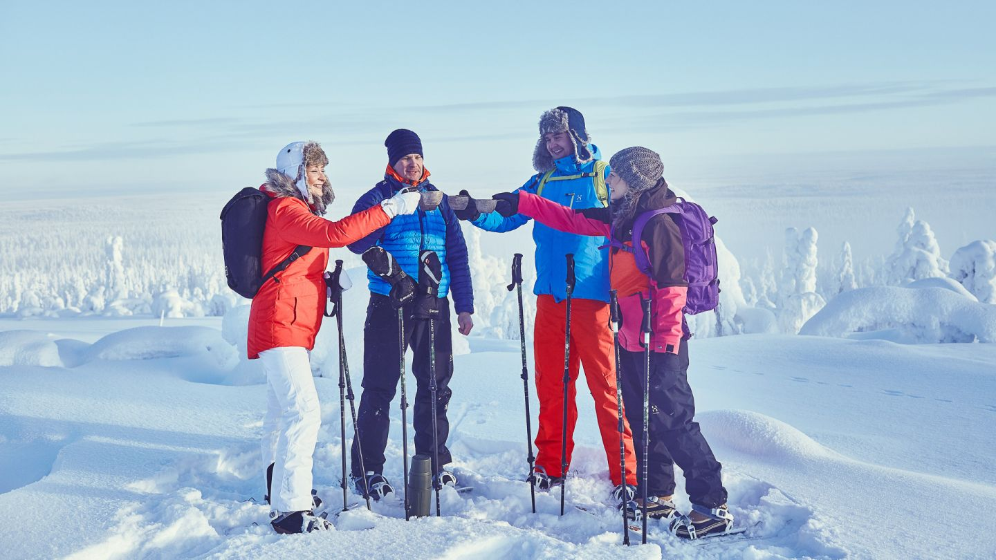 SKiing trip with friends in Pyha - Luosto, Lapland