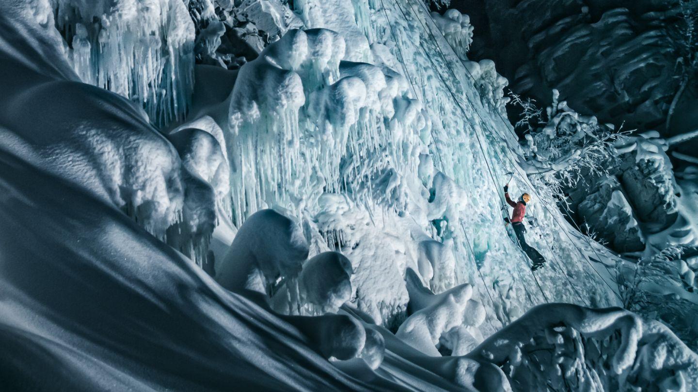 Ice climbing trip to Pyha Lapland