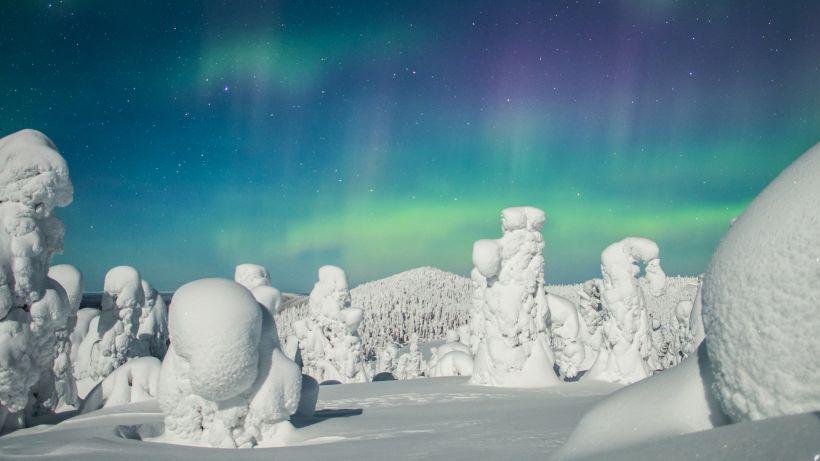 Northern Lights in Ruka, Scandinavia