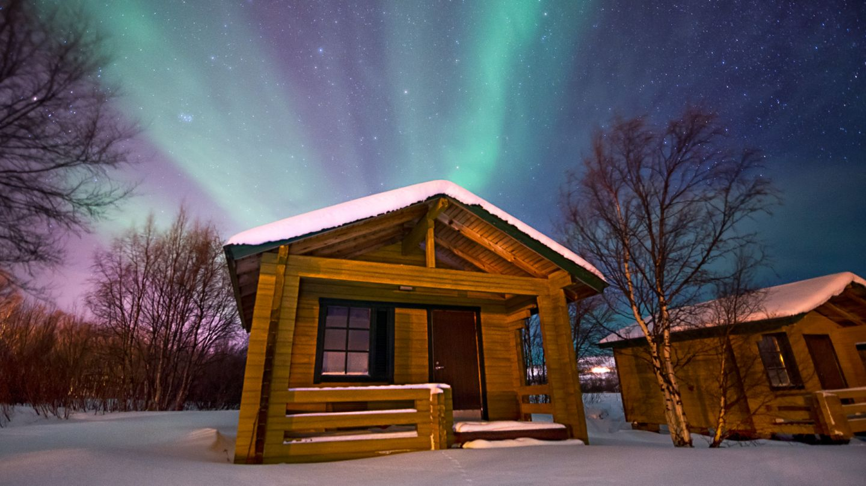 Aurora cabin in Utsjoki Lapland