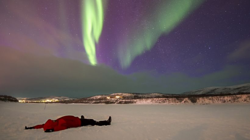 Utsjoki Lapland, Best place to see northern lights