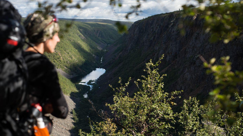 Kevo canyon, Utsjoki Lapland in summer
