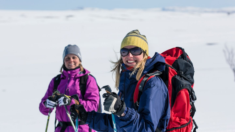 Skiing in Utsjoki Lapland