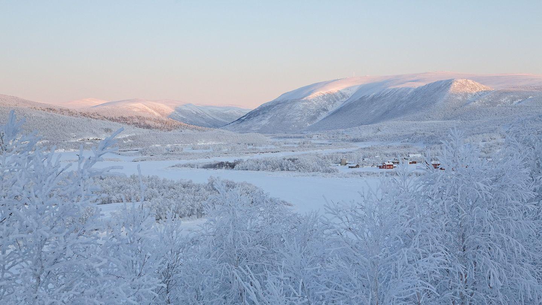 Winter in Utsjoki, Lapland