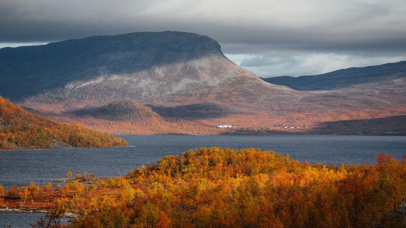 Autumn colors in Kilpisjärvi, Lapland
