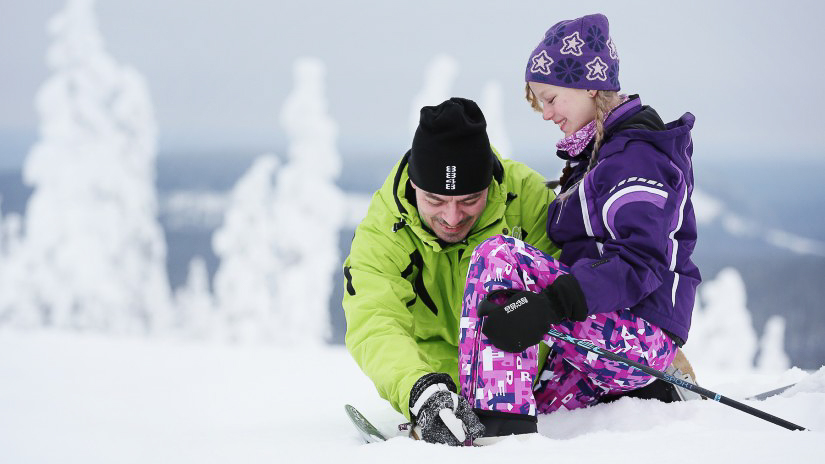 Winter fun in Pello, Lapland