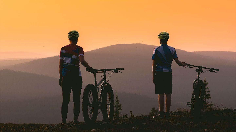 Summer mountain biking in Ylläs, Lapland