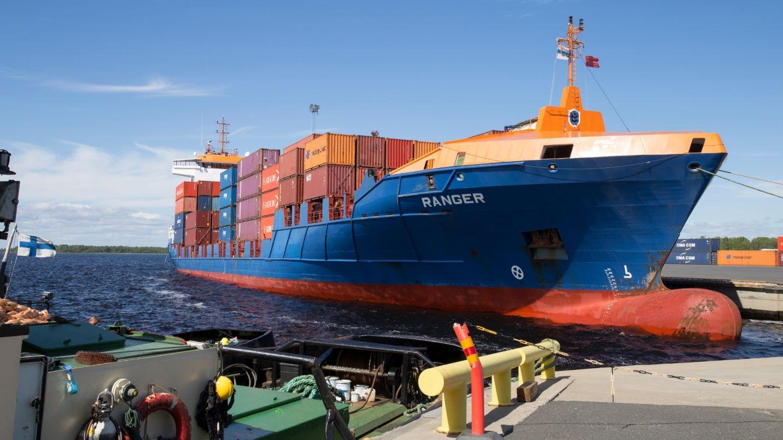 Port of Kemi logistics in Lapland