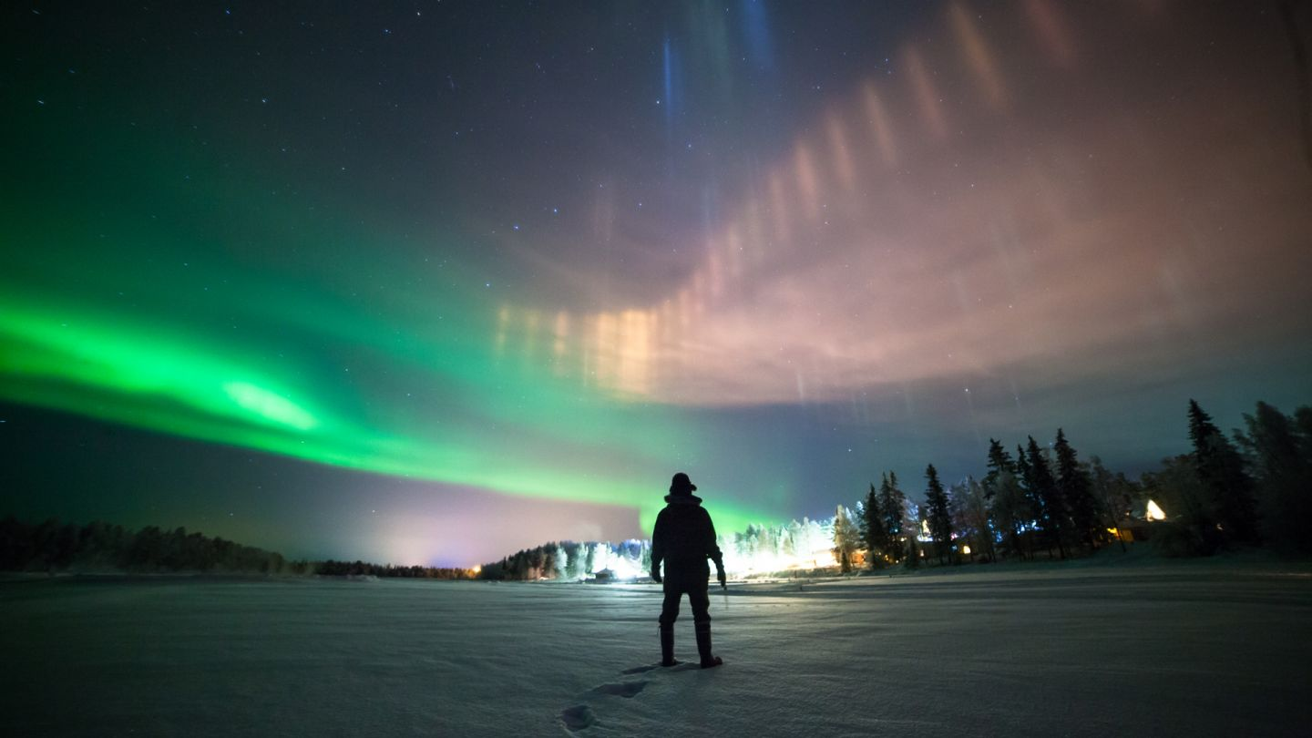 Northern Lights over Muonio, Finland