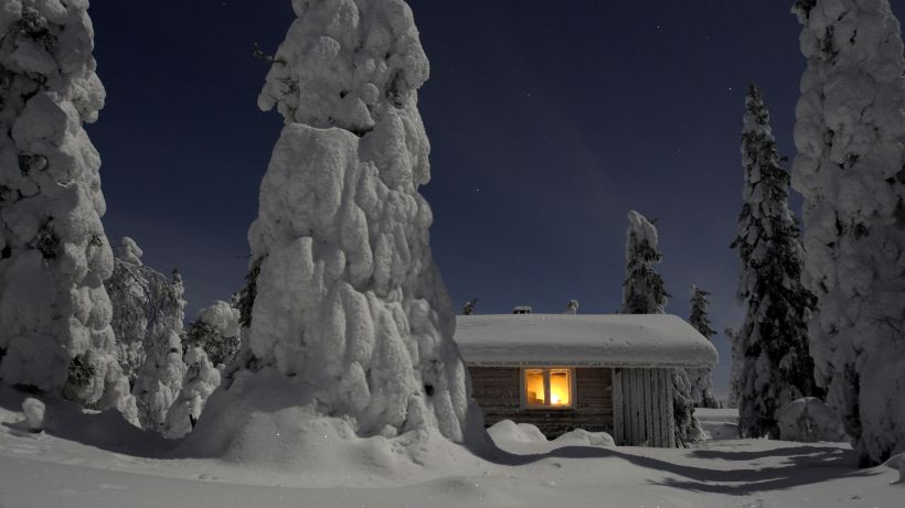holiday cabin in Posio Finland cabin