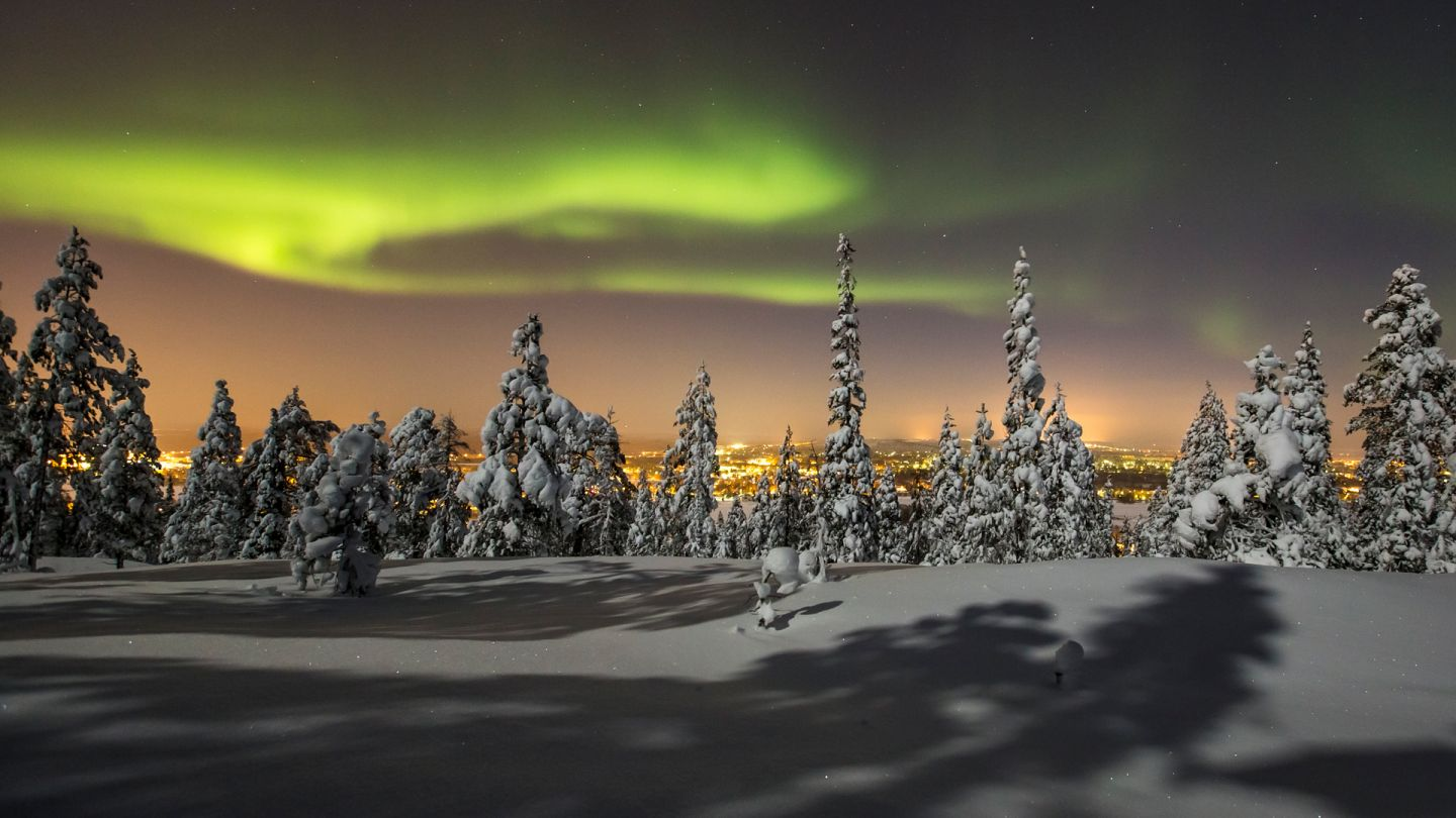 Northern Lights trip in Rovaniemi, Finland