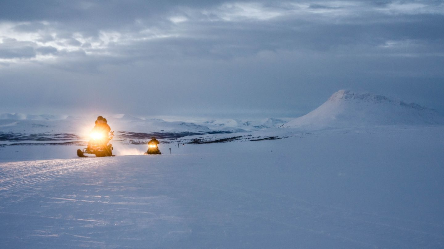 Winter testing in Lapland