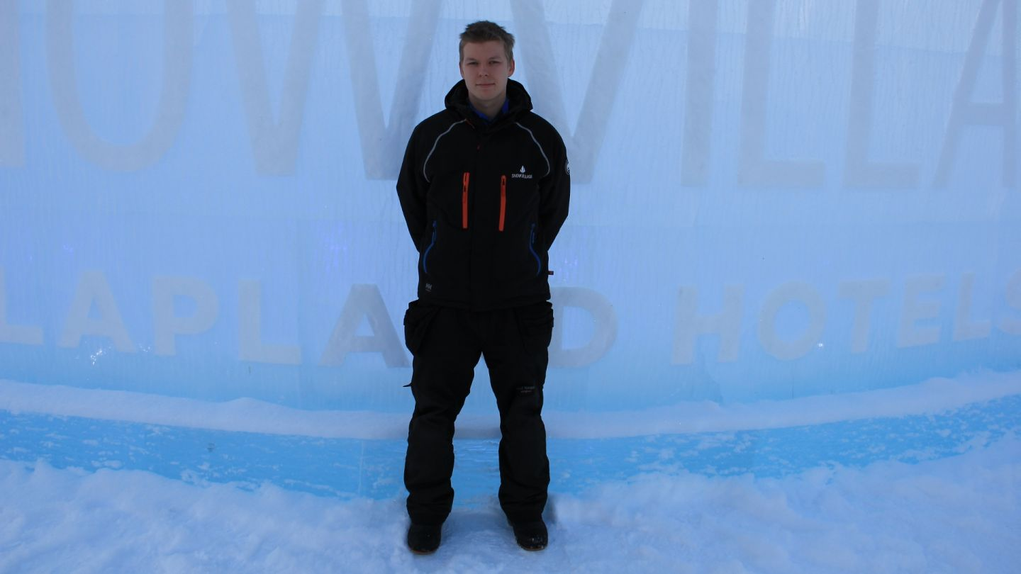 Janne Pasma work in Lapland Snowvillage