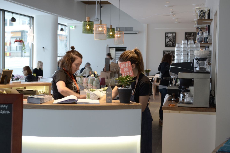 Hostel Cafe Koti henkilökunta