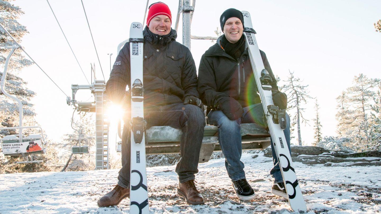 Shaman Skis yrityksen perustaminen