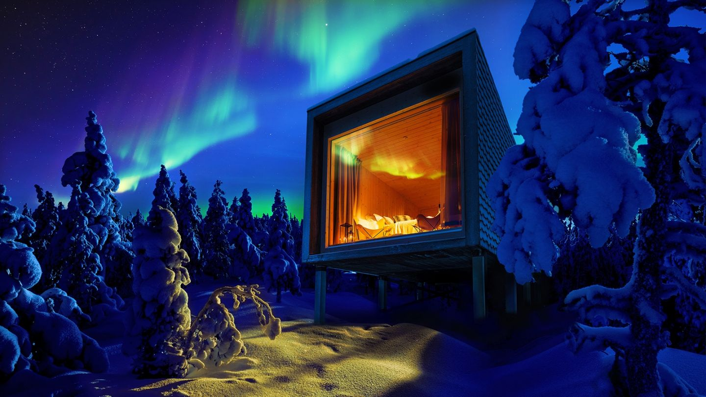 Arctic Treehouse Hotel Arctic Hottest Huts