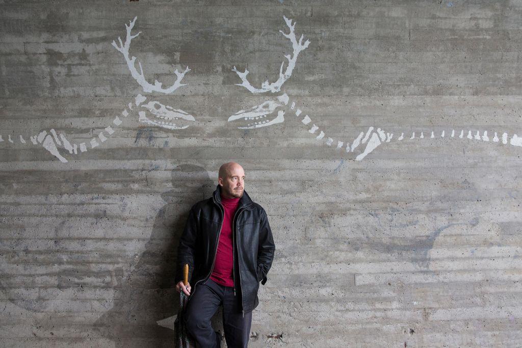 Arctic graffiti in Rovaniemi, Finland
