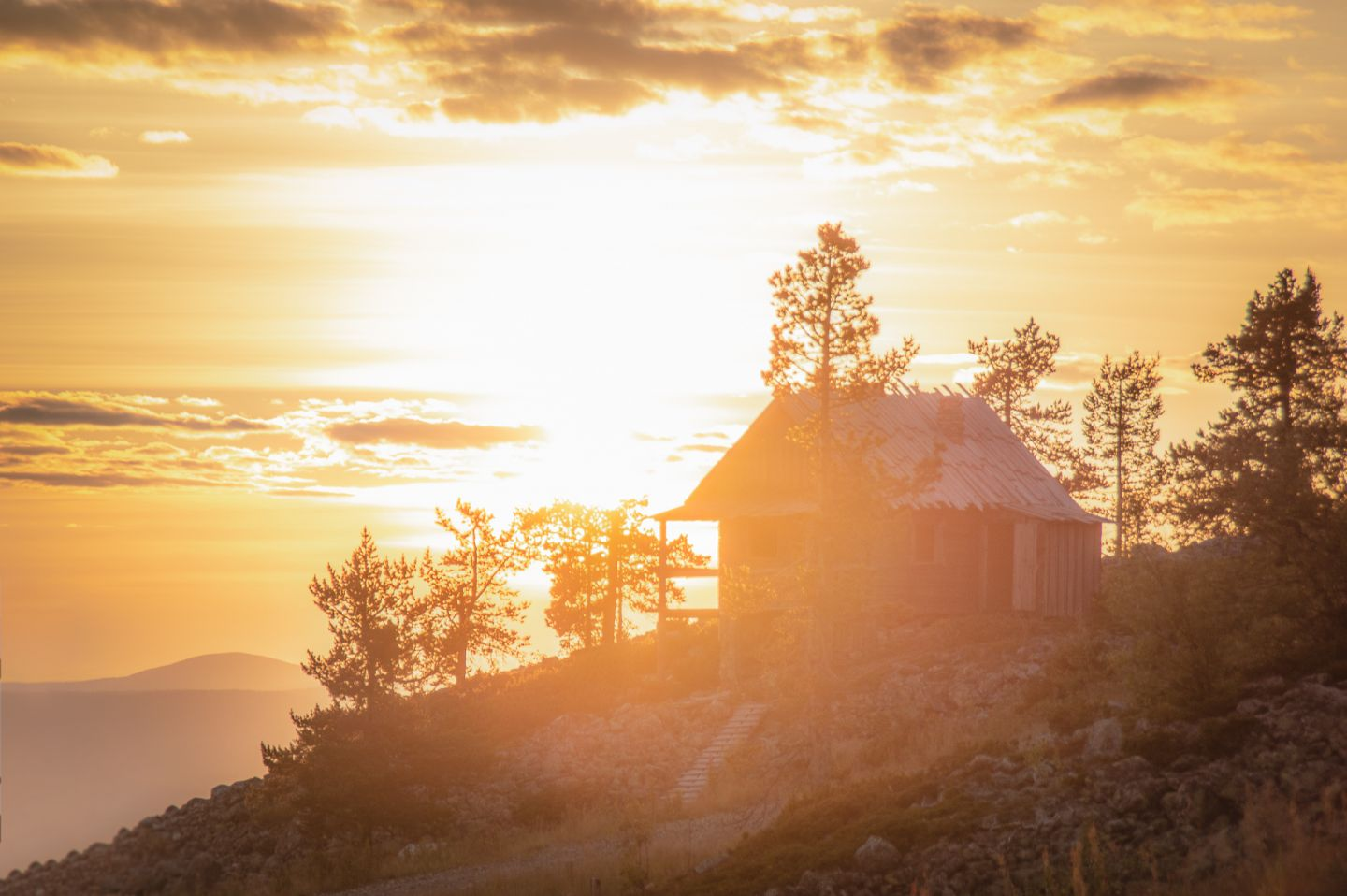 Summer holiday cottage in Levi, Finland