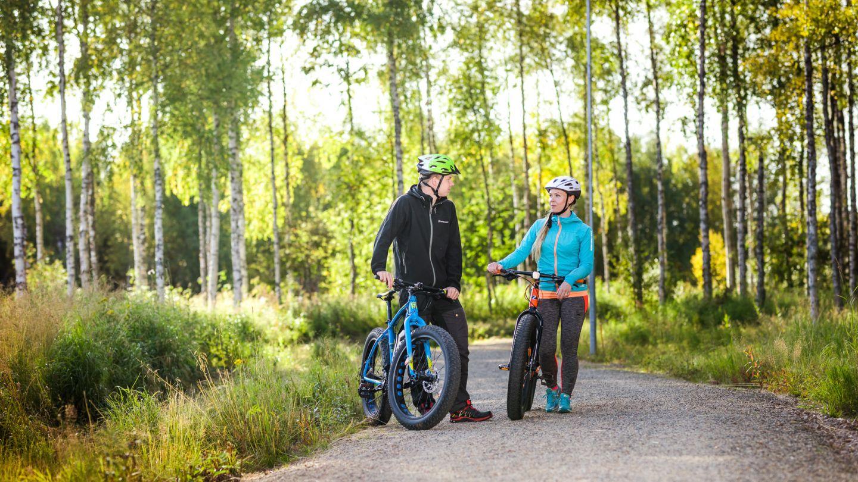 Fat biking trip in Sodankylä, Finland
