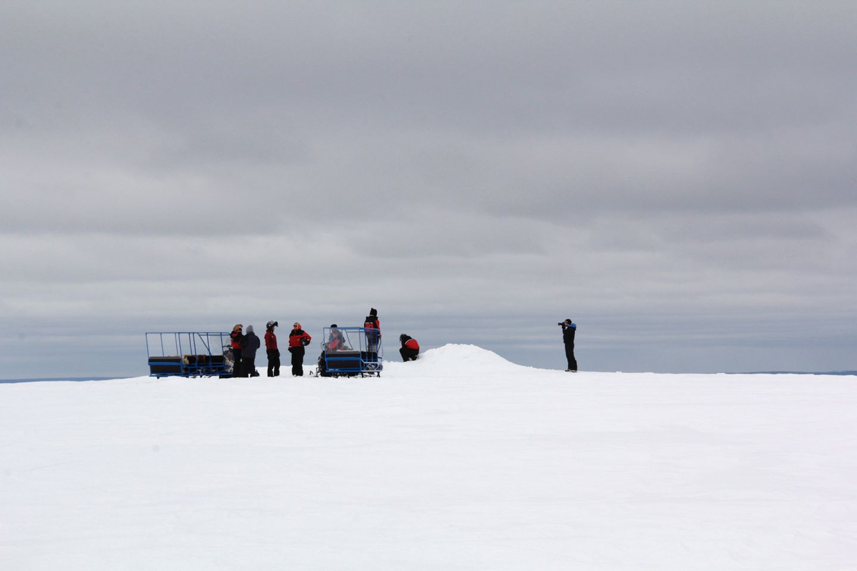 Wintery view in Urho Kekkonen National Park, during Film Lapland Fam Tour 2018